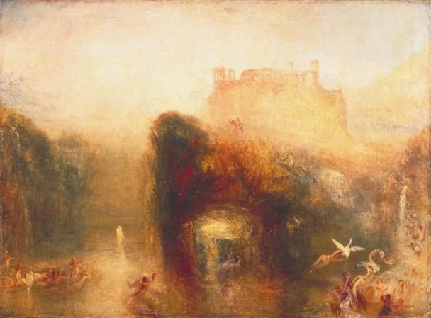 Queen Mab's Cave exhibited 1846 by Joseph Mallord William Turner 1775-1851